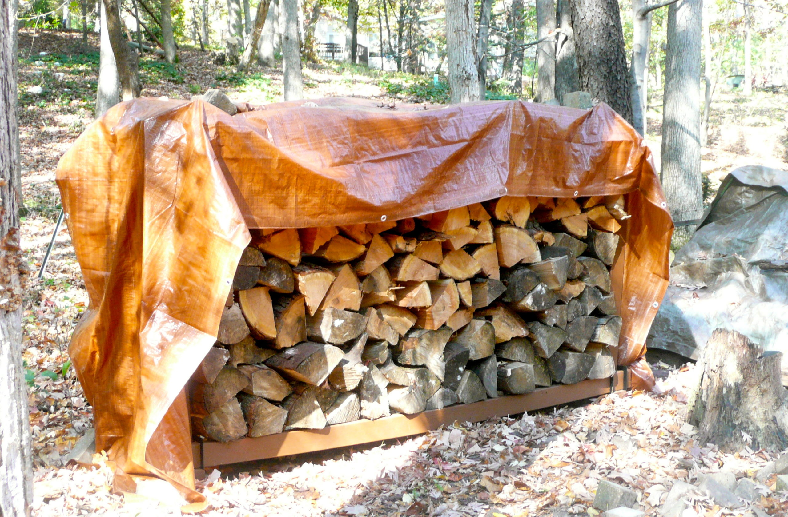 homemade firewood rack plans - DIY Woodworking Projects