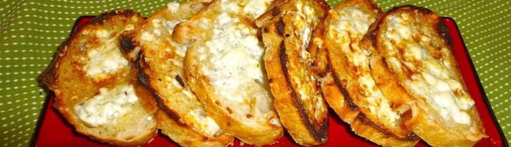 Gorgonzola Garlic Bread   Simply Norma
