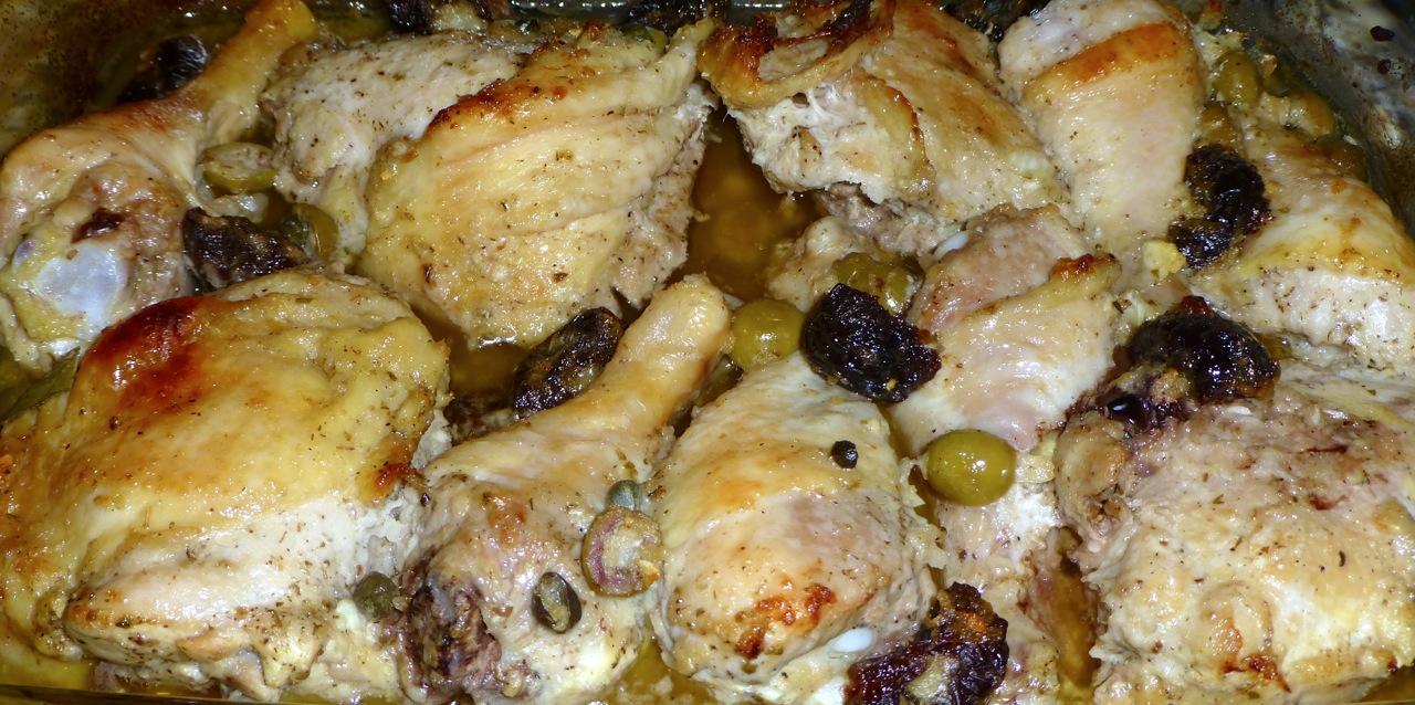 Chicken Marbella | Simply Norma