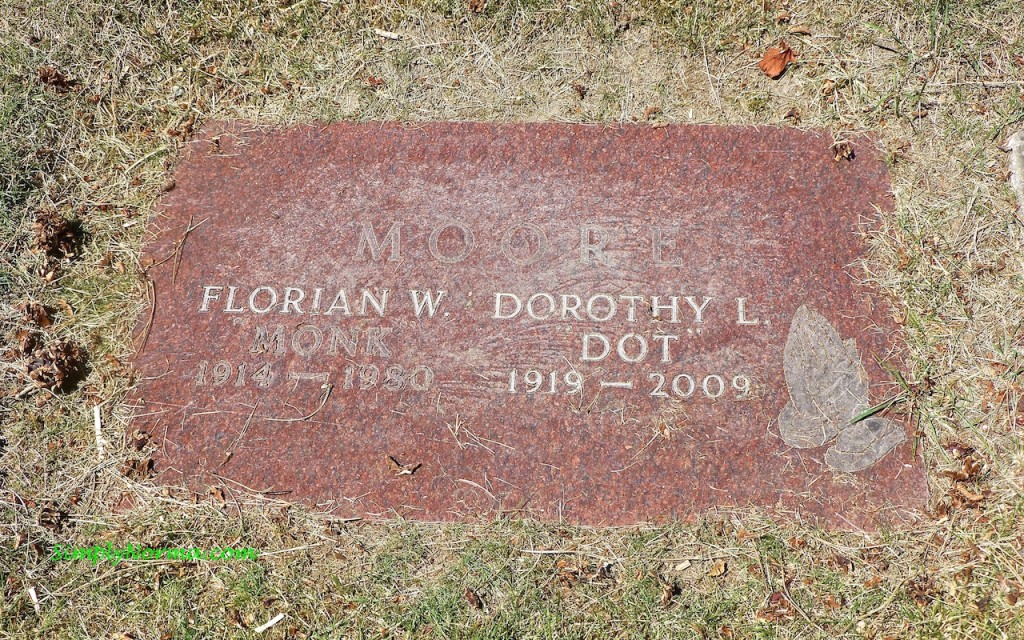 Dorothy Moore Grave Marker