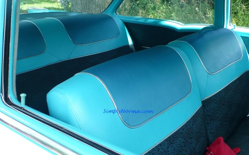 1957, Chevy BelAir, Seats