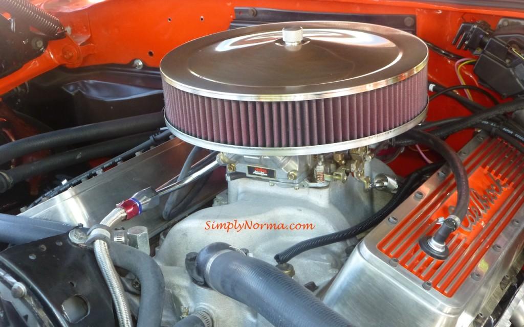 1970 Chevy Chevelle Engine