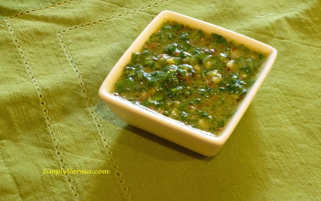 Cilantro Dill Sauce