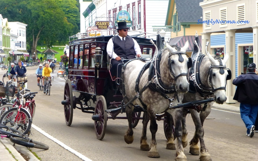 Horse Carriage, Mackinac Island, Michigan