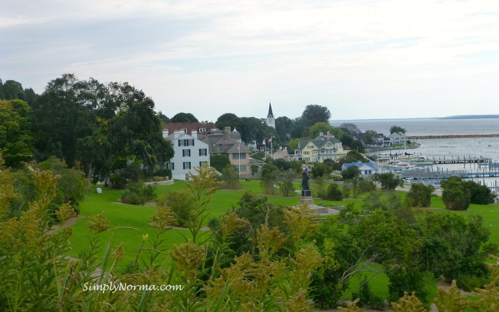 View from Fort Mackinac Island