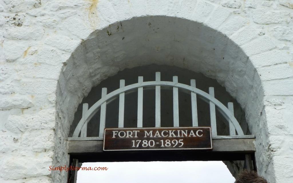 Entrance, Fort Mackinac, Mackninac Island