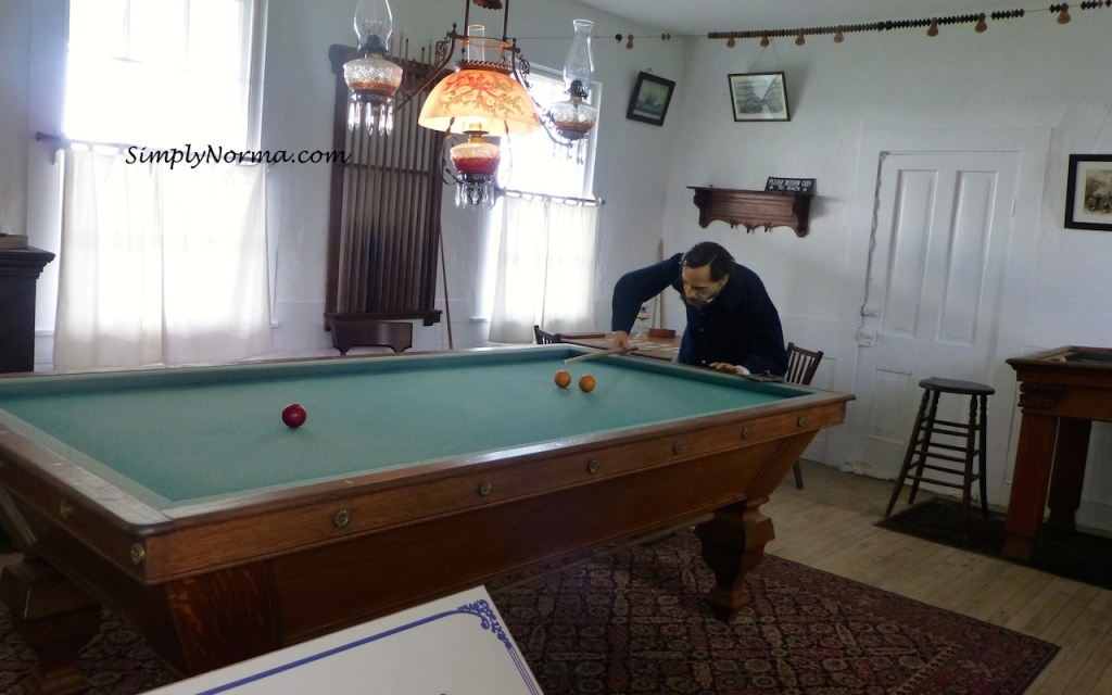 Billiard Room, Fort Mackinac, Michigan