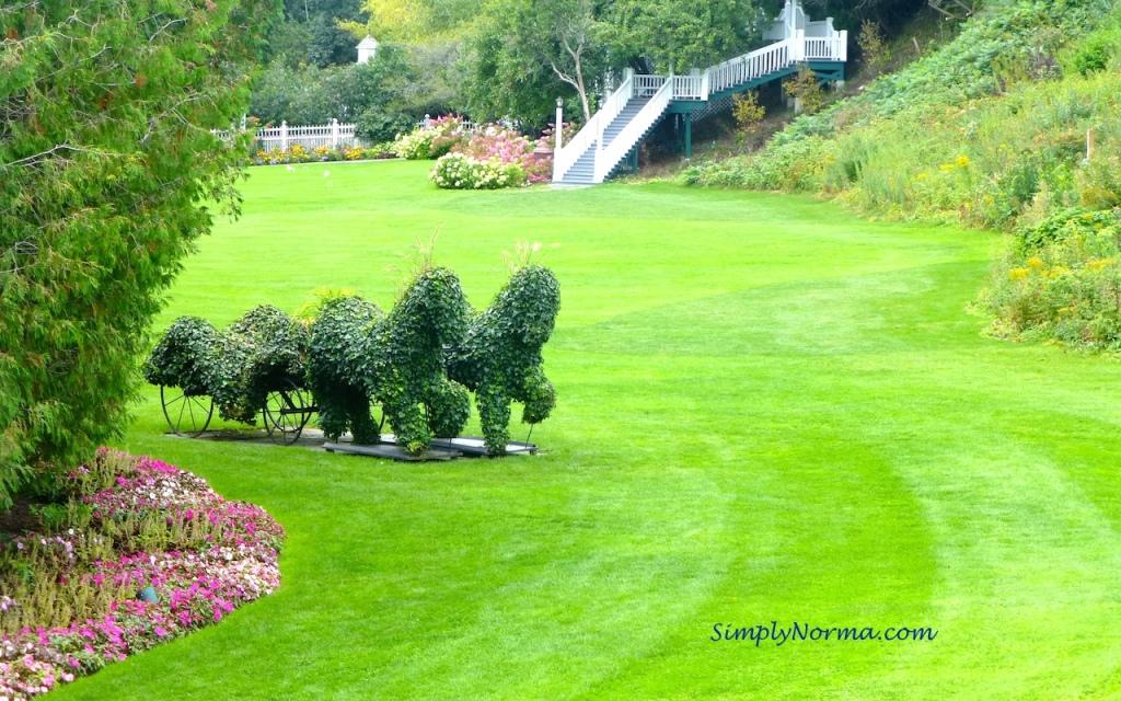 Park Grounds, Grand Hotel, Mackinac Island, Michigan