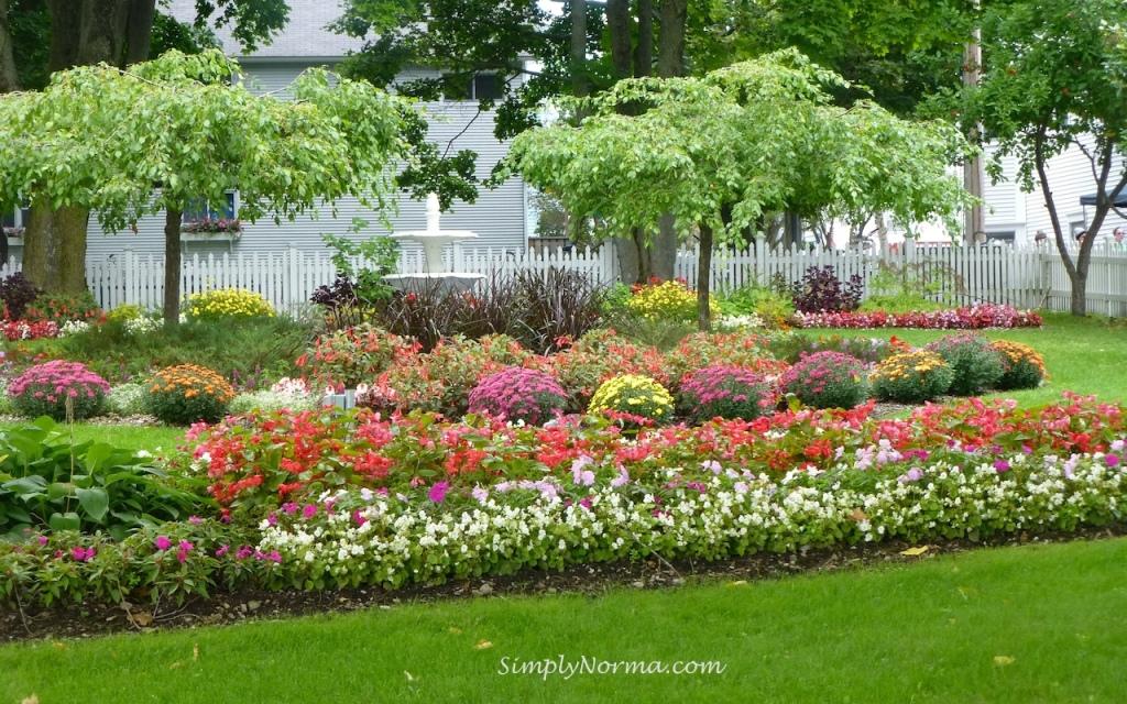 Flowers, Mackinac Island, Michigan