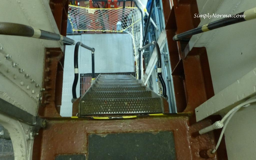 Stairs, Icebreaker Mackinaw