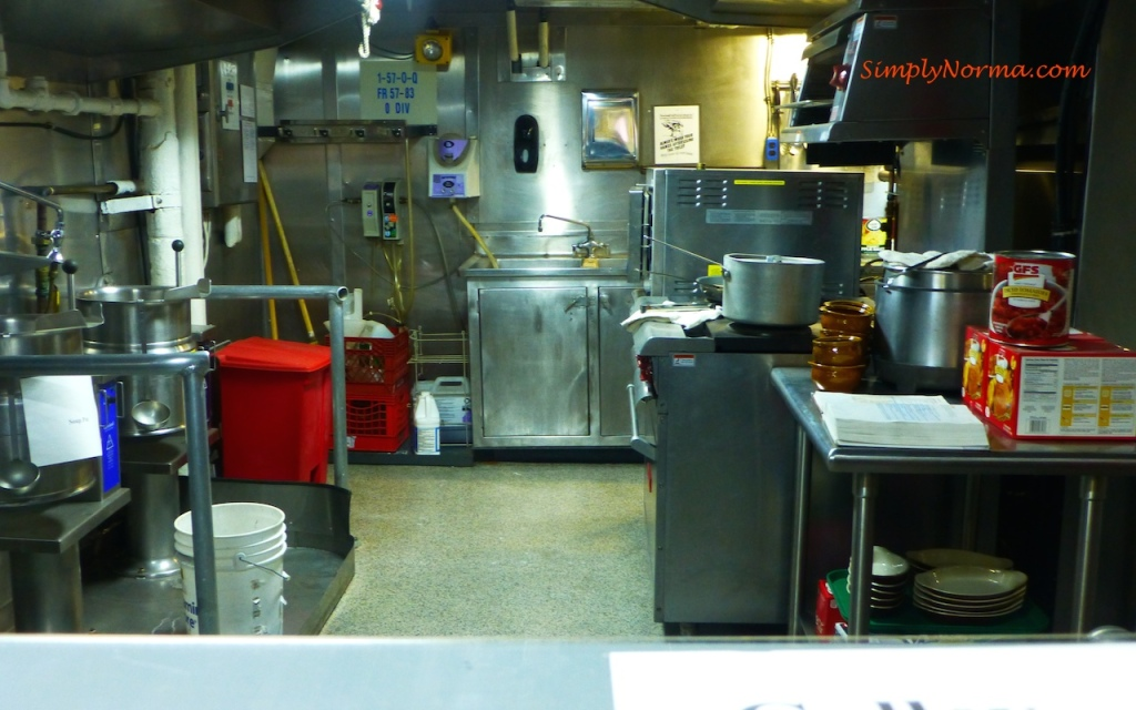 Kitchen, Icebreaker Mackinaw