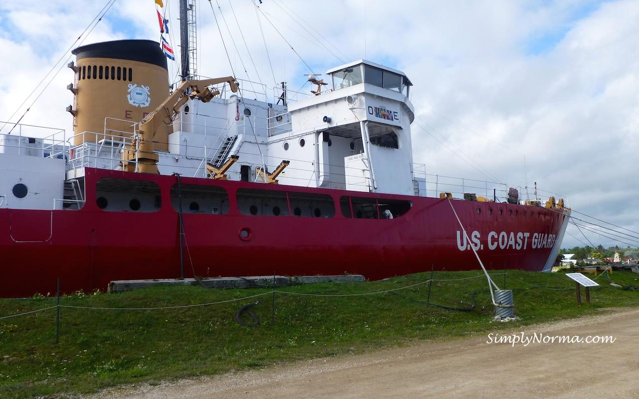 Icebreaker Mackinaw, Mackinaw City, Michigan
