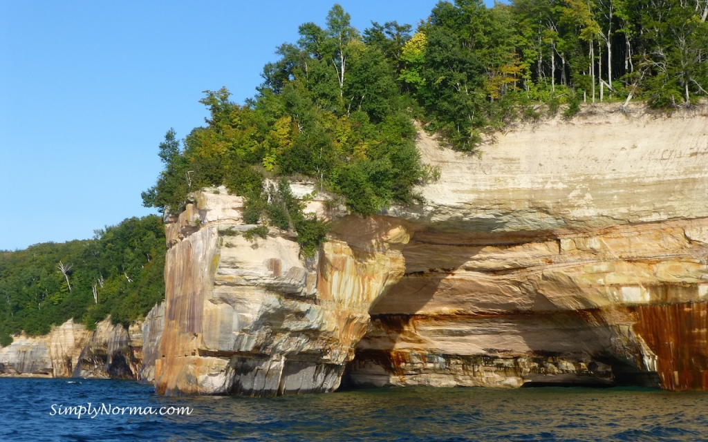 Pictured Rocks National Shoreline, Michigan