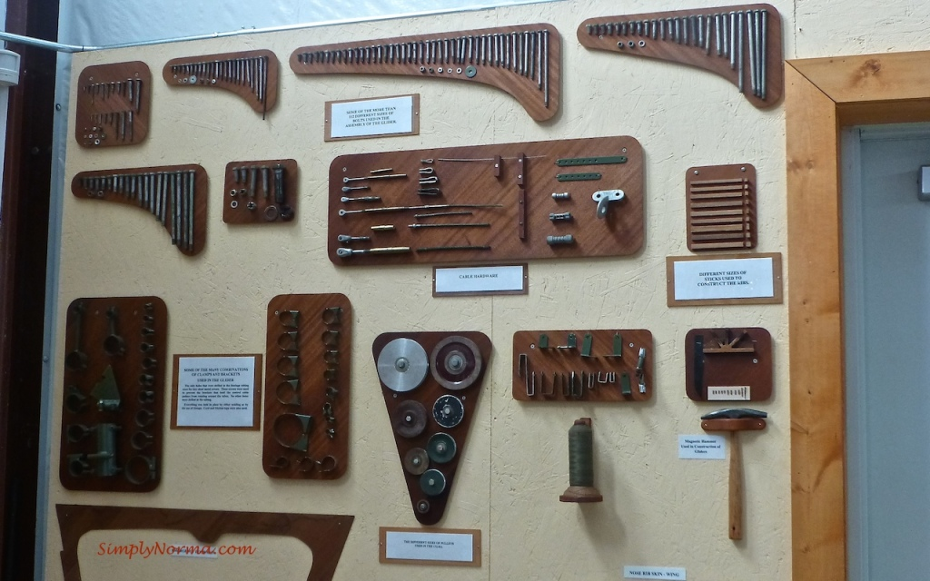 Parts Used for World War II CG 4A Glider
