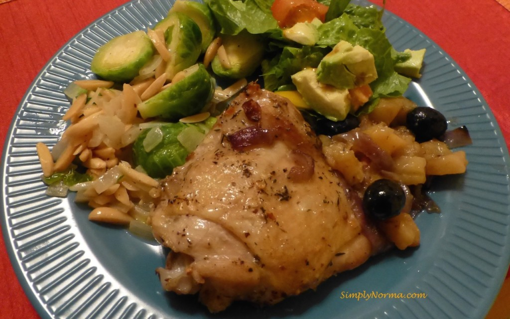 Paleo Baked Chicken with Sweet Potato